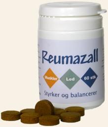 Reumazall - dobbeltstørrelse 299.-